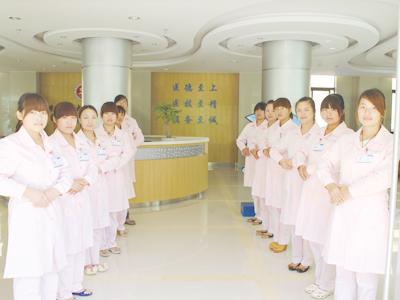 医院大厅导医
